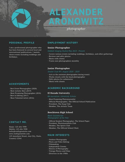 Customize 72 Professional Resume Templates Online Canva