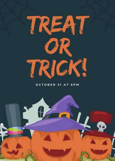 Customize 43 Halloween Flyer Templates Online Canva