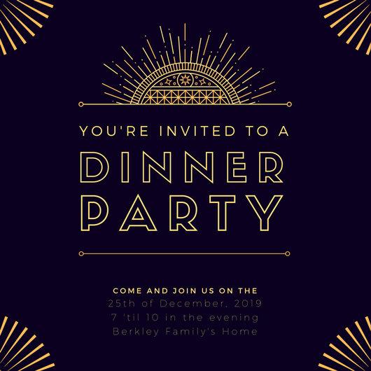 Customize 204 Great Gatsby Invitation Templates Online