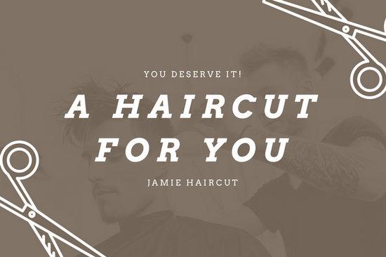 Customize 123 Hair Salon Gift Certificate Templates