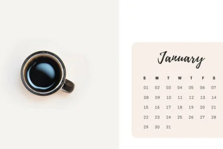 Customize 344  Calendar templates online   Canva White Images Monthly Calendar