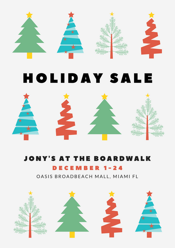 Holiday Sale Store Christmas Tree Poster Templates By Canva