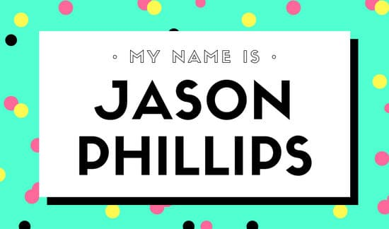 Customize 34 Name Tag Templates Online Canva