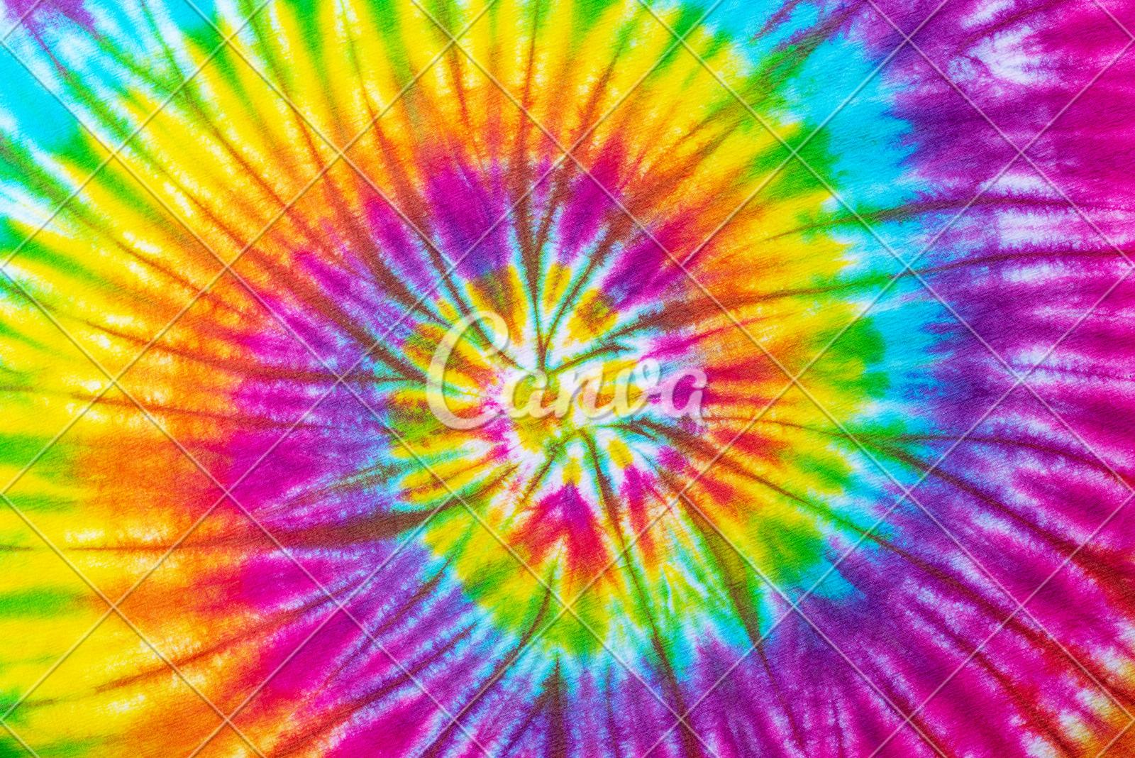 Tie Dye Pattern Background Photos By Canva