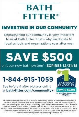 Save 500 Bath Fitter Laurel Md
