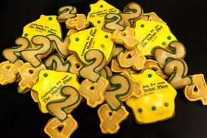 24th Anniversary Cookies