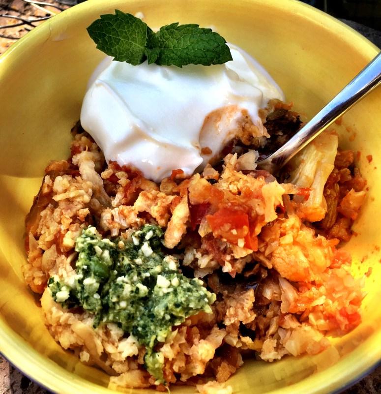 ready-made meals, Cauliflower Biryani, Vegan & Banting Friendly