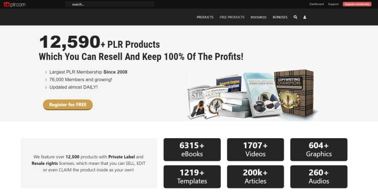 12,590+ PLR Products Which You Can Resell And Keep 100% Of The Profits!