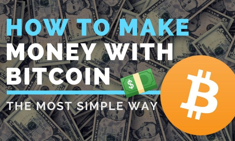 How can I make money with Bitcoin?