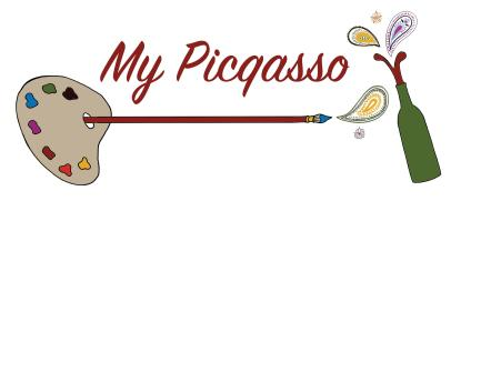 My Picqasso is a mobile art painting studio