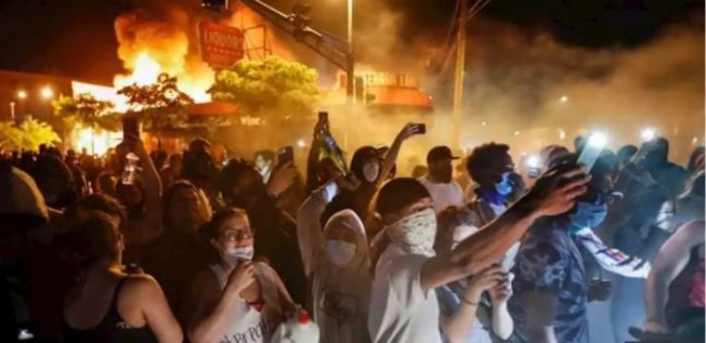 Riots minneapolis 2020