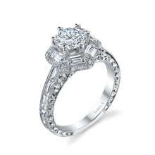 Diamond Ring - 18k White Gold