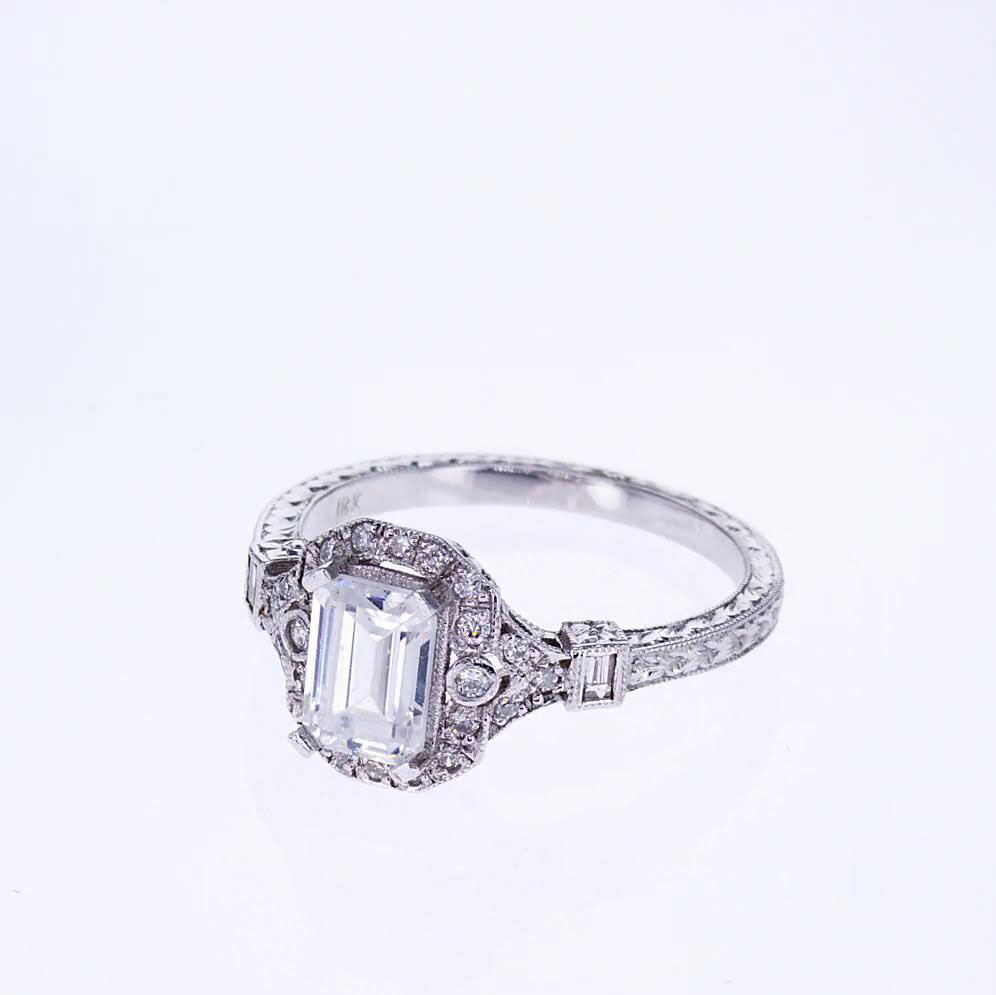 Weding Bands For Emerald Cut Engagement Rings 01 - Weding Bands For Emerald Cut Engagement Rings
