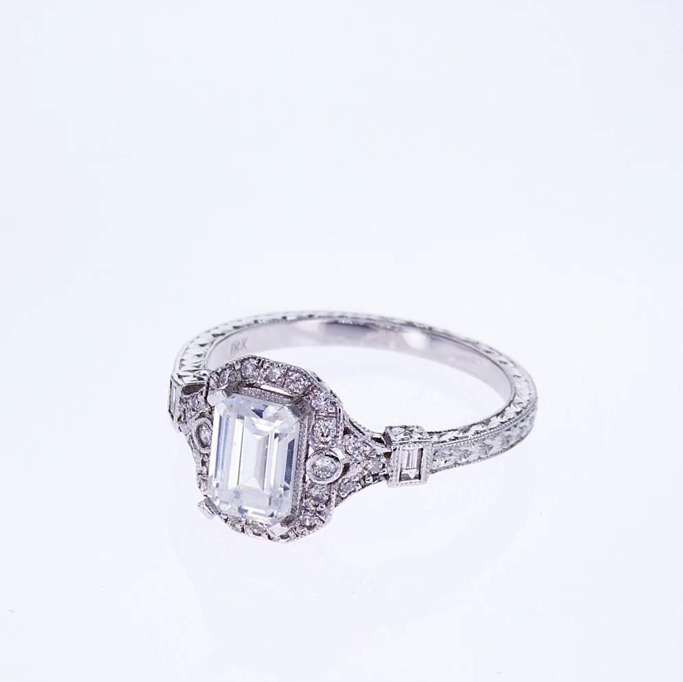 Diamond Engagement Rings Art Deco