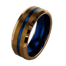 Affordable Men's Wedding Band in Tungseten