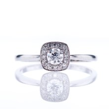 affordable diamond engagement ring for her