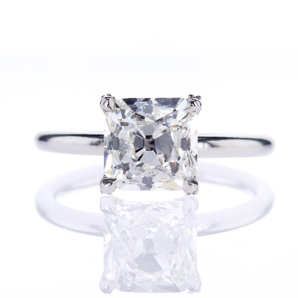 accented ring engagement white sku rings gold solitaire diamond shop size