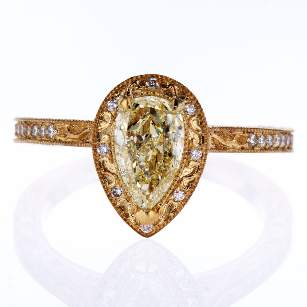 anniversary zirconia stone abby cut tri three products cubic faux cz engagement jewelry rings gold goldtone cushion clear ring diamond addy