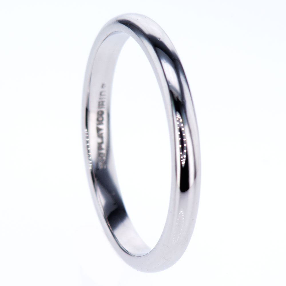 band novell wedding in platinum mens