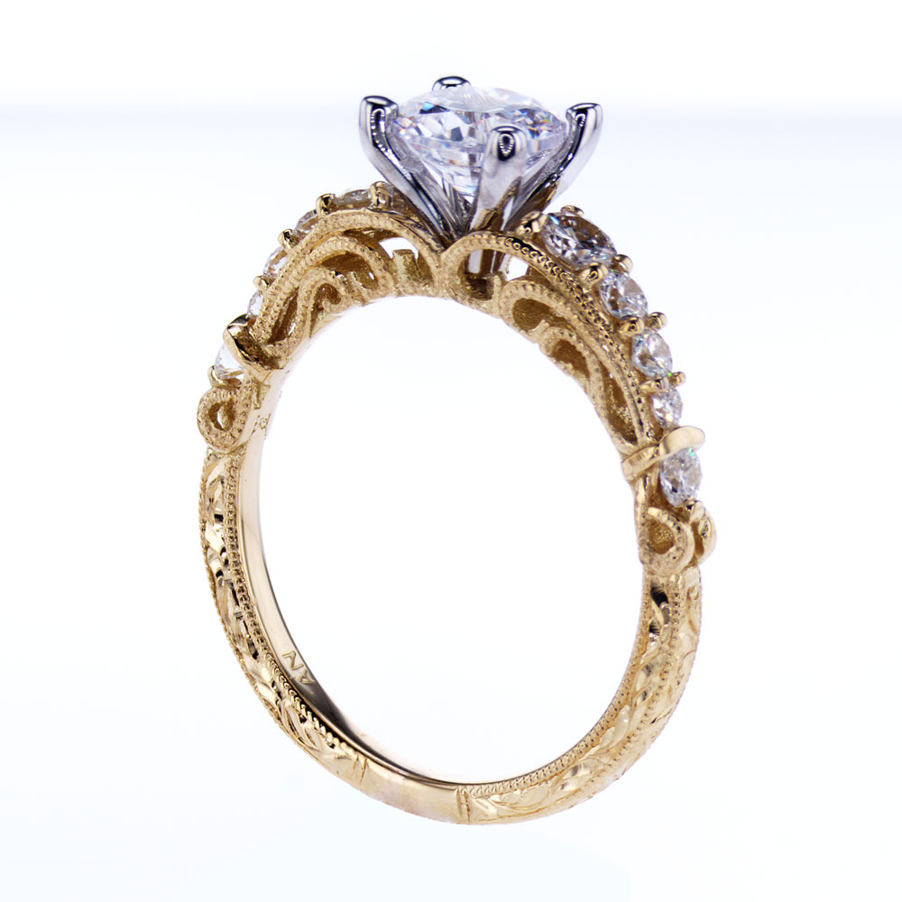 filigree of estate rings engagement awesome amp vintage wedding lovely