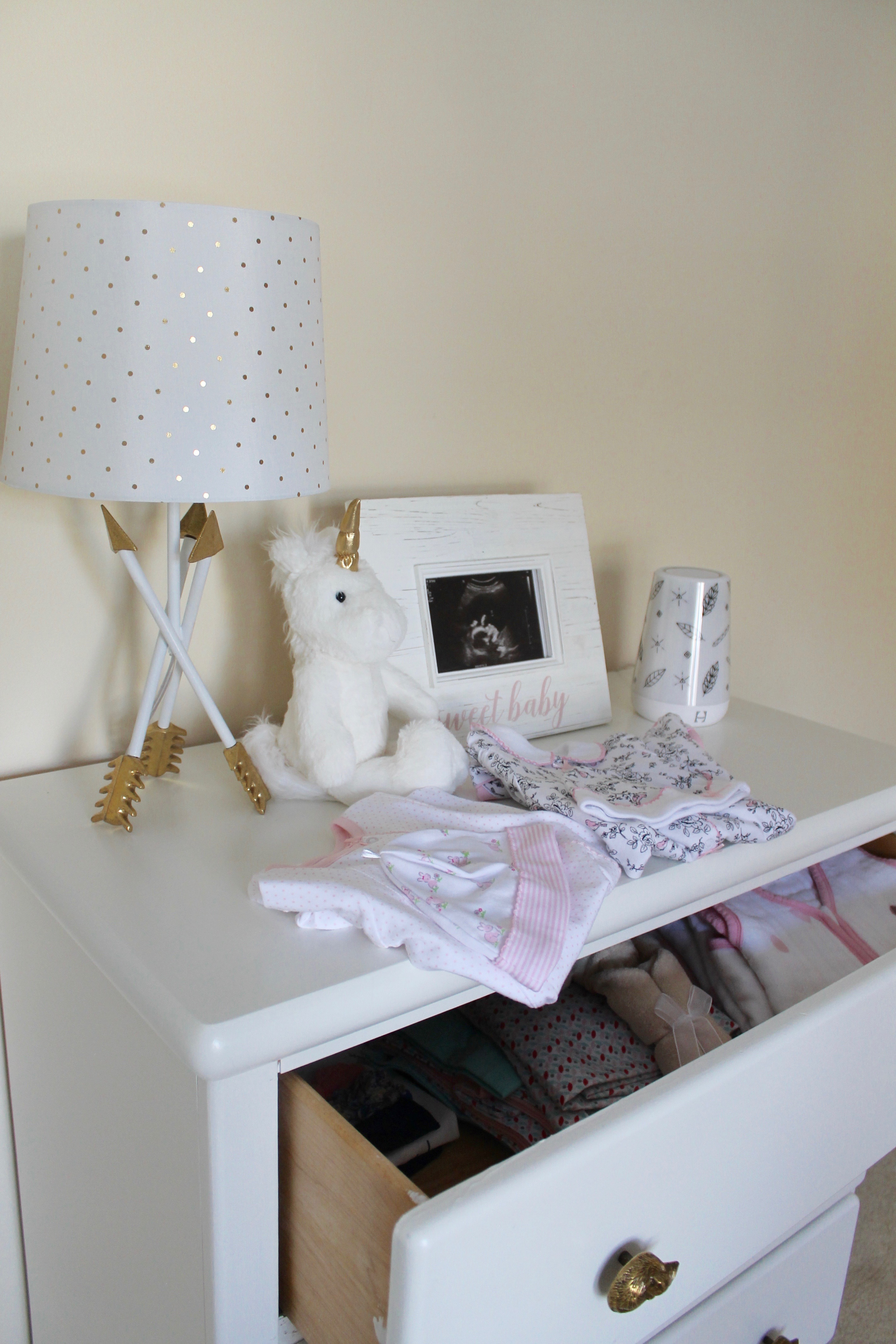Simple bedroom bureau makeover for baby's nursery   Market Street Petite blog