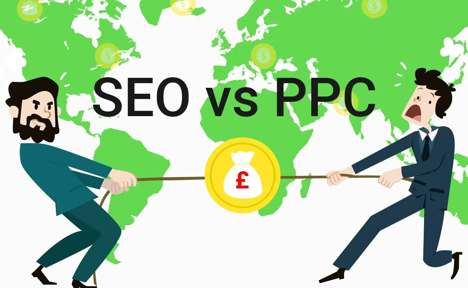 PPC vs SEO competition