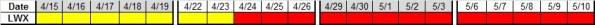 Next 4 wks LWX 4-12-2013