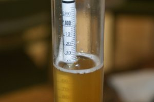 Hydrometer photo for brand content story
