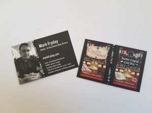Mark Fryday business cards