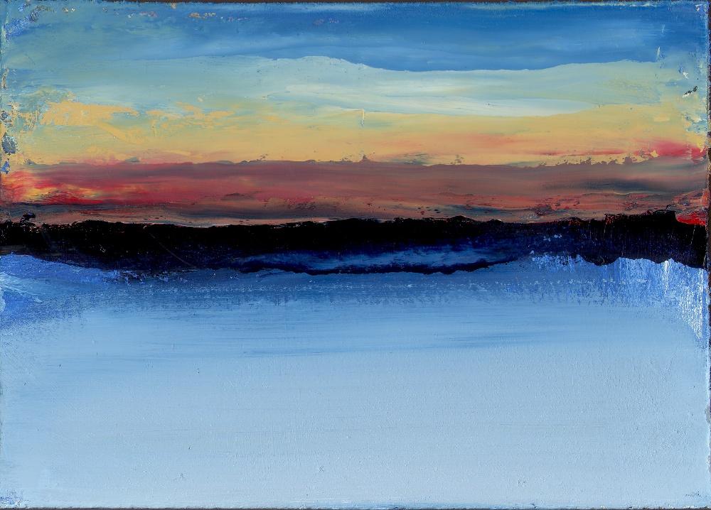 Acrylic Painting - Alaskan Dawn