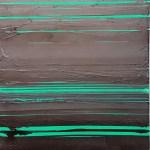 abstract art Green and Black 15082018 Mark Gisbourne artist