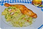 Kartoffel- Gurken Salat, Krautsalat