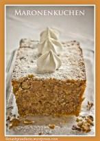 Marroni Cake - Maronenkuchen