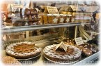Schoko-Linzer mit Schokoladencreme gefüllt
