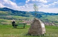 Gewann Steinenkreuzle, Blick auf Obereggenen