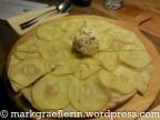 Flammkuchen mit Äpfeln