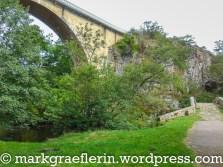 Zwei Brücken in Pierre-Perthuis