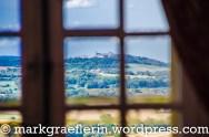 Blick vom Salon auf Vézelay