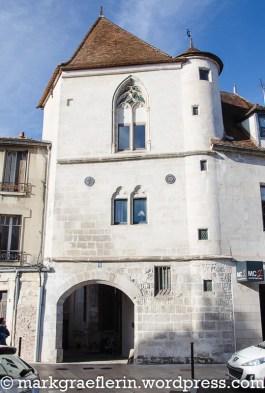Das älteste Haus in Auxerre ist das eines Kaufmanns