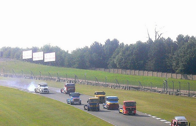 Truck Racing at Donington Park