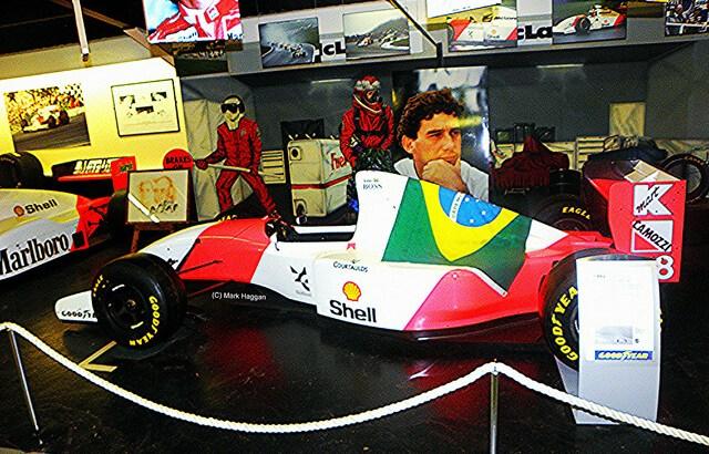 The Ayrton Senna collection at Donington