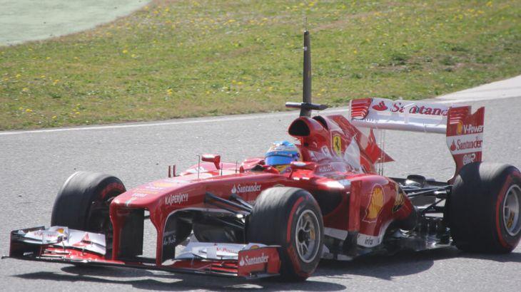 Fernando Alonso in Winter Testing 2013