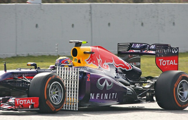 Mark Webber in Winter Testing 2013
