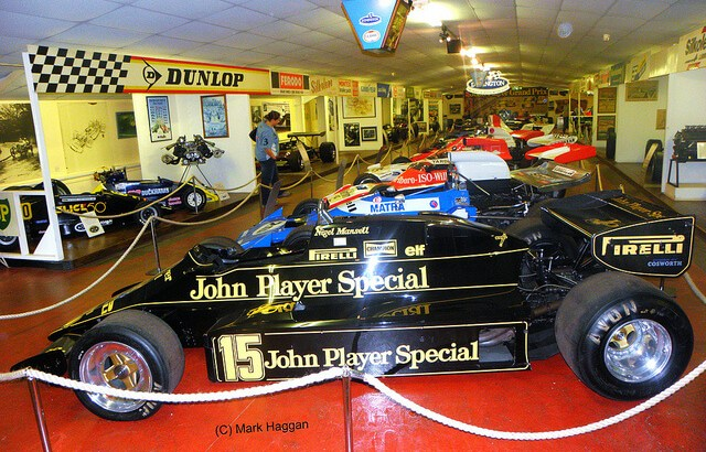 Nigel Mansell's Lotus at The Donington Collection