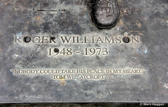 The Roger Williamson memorial at Donington Park