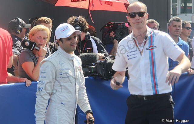 Felipe Massa at the 2014 German Grand Prix