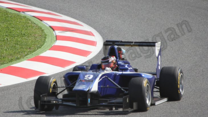 GP3 racing at the 2013 Spanish Grand Prix