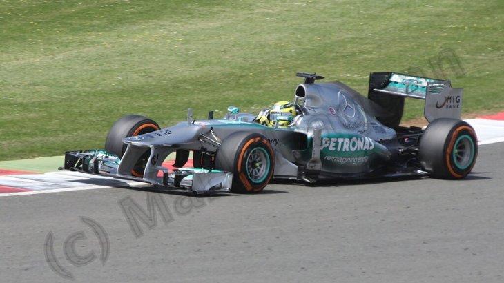 Nico Rosberg at the 2013 British Grand Prix