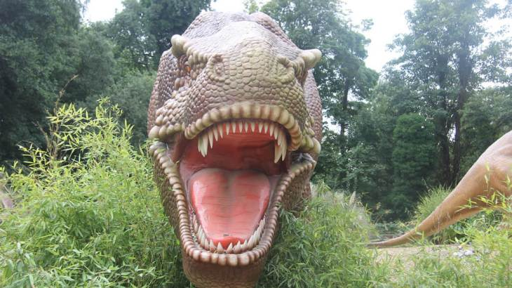Dinosaurs at Drayton Manor