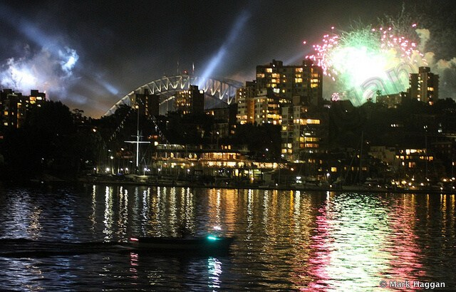 International Fleet Review Fireworks